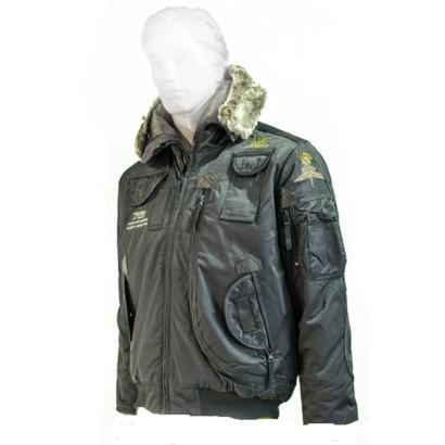 Куртка с капюшоном 726armyfans черн.