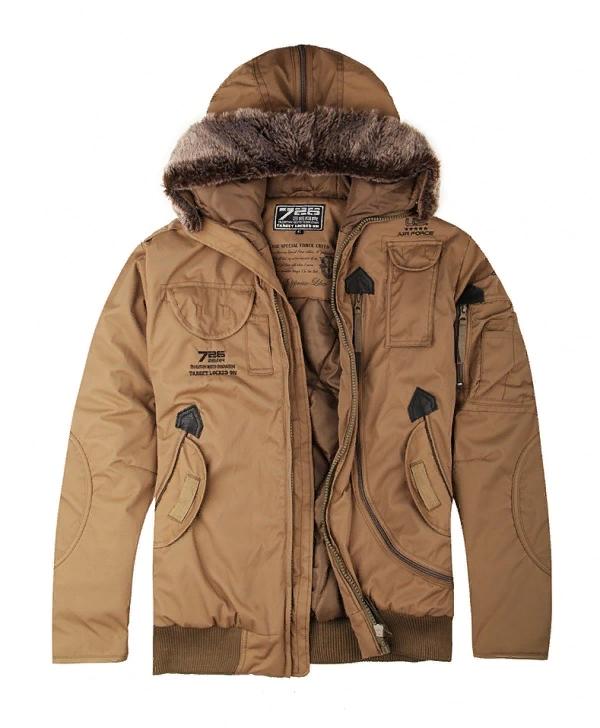 Куртка с капюшоном 726armyfans койот