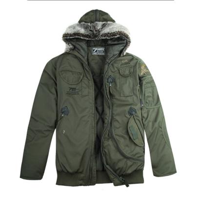 Куртка с капюшоном 726armyfans олива