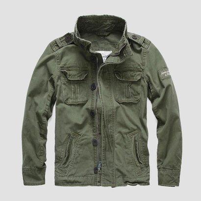 Куртка Abercrombie olive