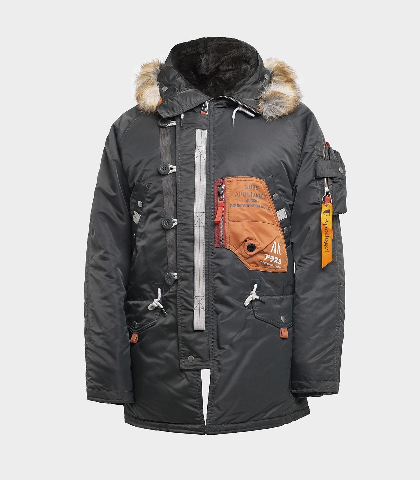 Куртка зимняя N-3B SAPPORO Beluga