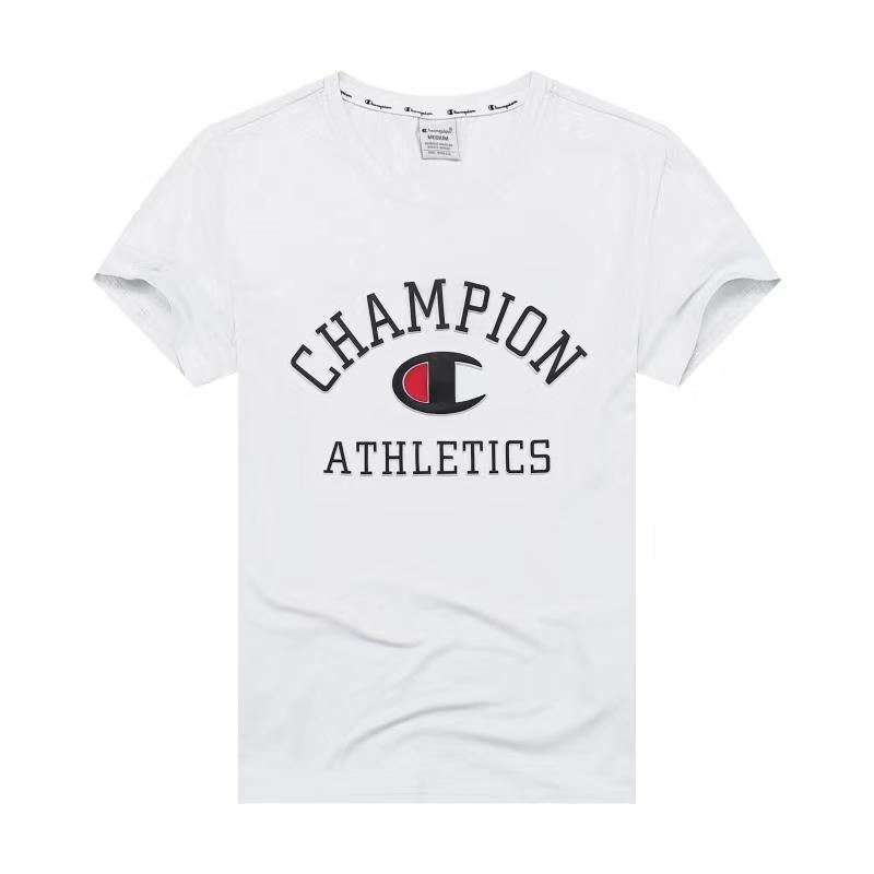 Футболка Champion с 3D принтом белая