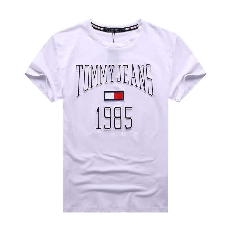 Футболка Tommy Jeans c 3D принтом белая