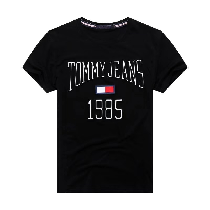 Футболка Tommy Jeans c 3D принтом черная